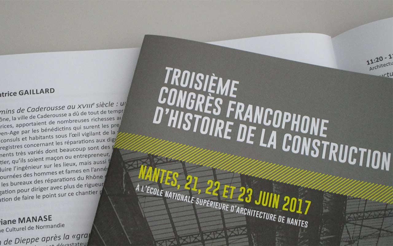 Congres international d histoire de la construction
