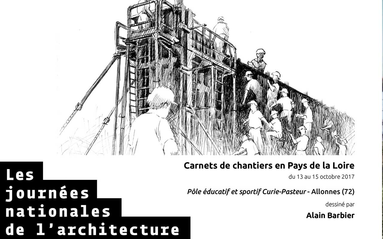 Carnets de chantiers en Pays de la Loire