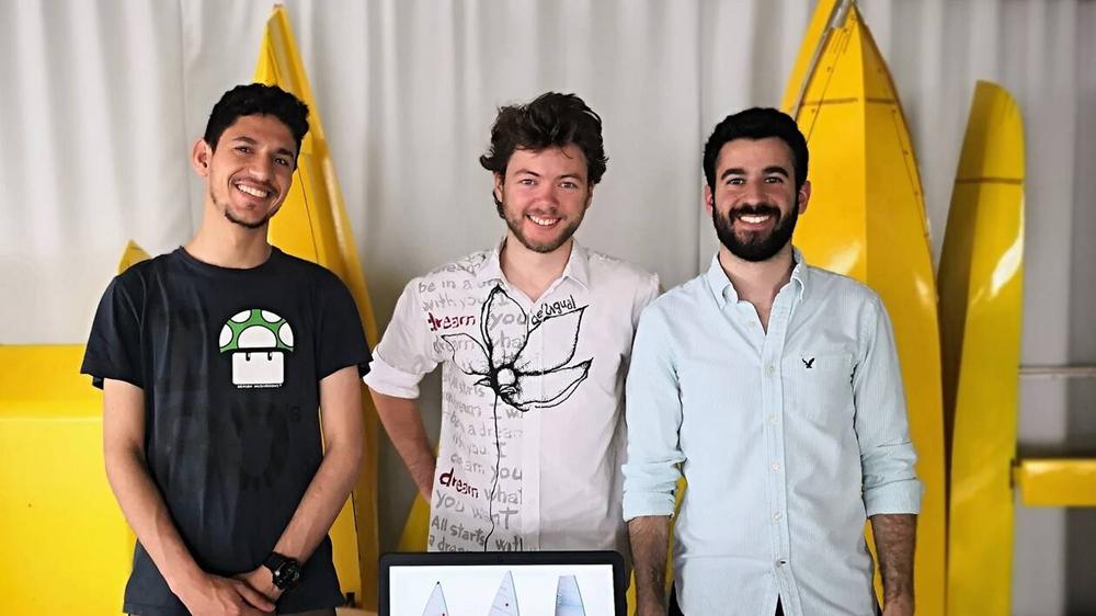 projet d'handi-voilier des étudiants de l'ensa nantes
